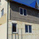 Утепление фасада дома из шлакоблока с последующей отделкой сайдингом