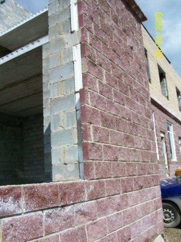 Утепление шлакоблочного дома пенопластом и облицовочным кирпичом