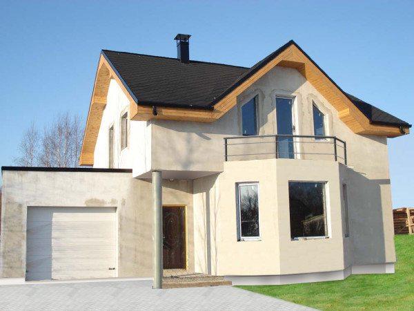 Вариант дома с подсчетами по строительству