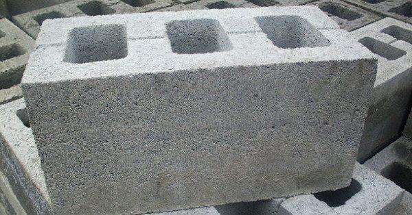 Вес обычного стенового пустотела