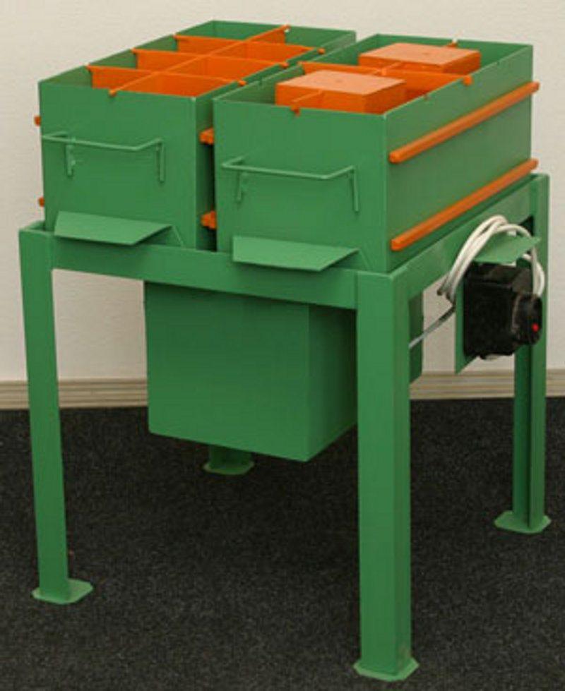 Вибростол - оборудование для домашнего производства блоков.