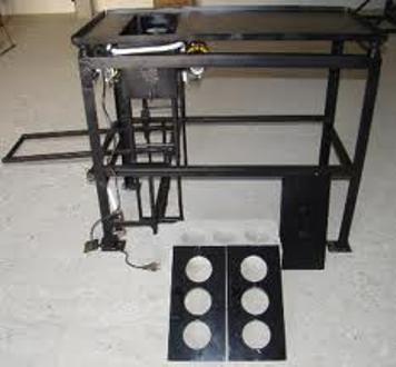 Виброустановка для изготовления шлакоблоков
