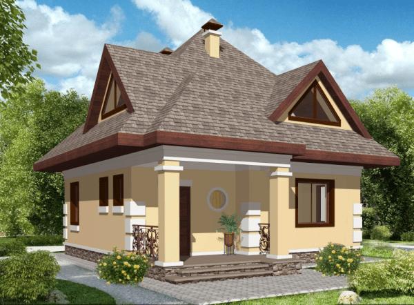 Внешний вид дома на проекте – заключительная часть, до которой необходимо преодолеть несколько этапов, вплоть до анализа грунта