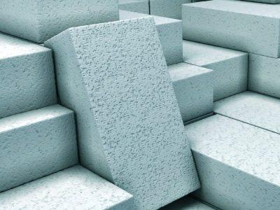Внешний вид пенобетонных блоков на фото.