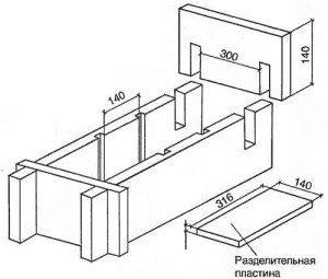Вот так выглядят чертежи оборудования для производства шлакоблоков