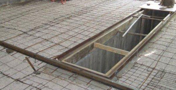 Залейте в гараже бетонный пол