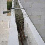 Армирование стен из U-образных газоблоков