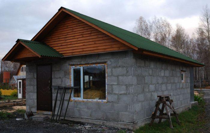 Видео строительство дачного дома своими руками
