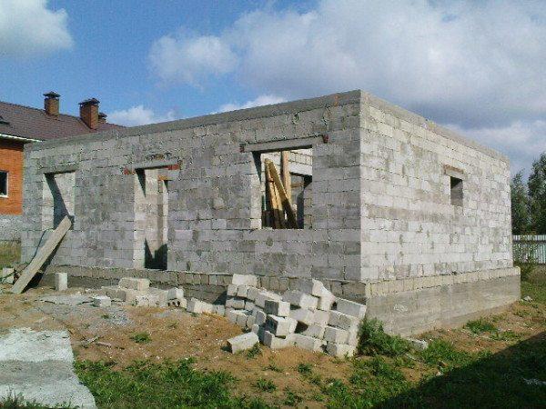 Построить дом своими руками фото из пеноблоков