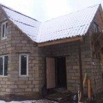 Дом для дачи из пеноблоков