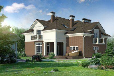 Фото дома, построенного по типовому проекту