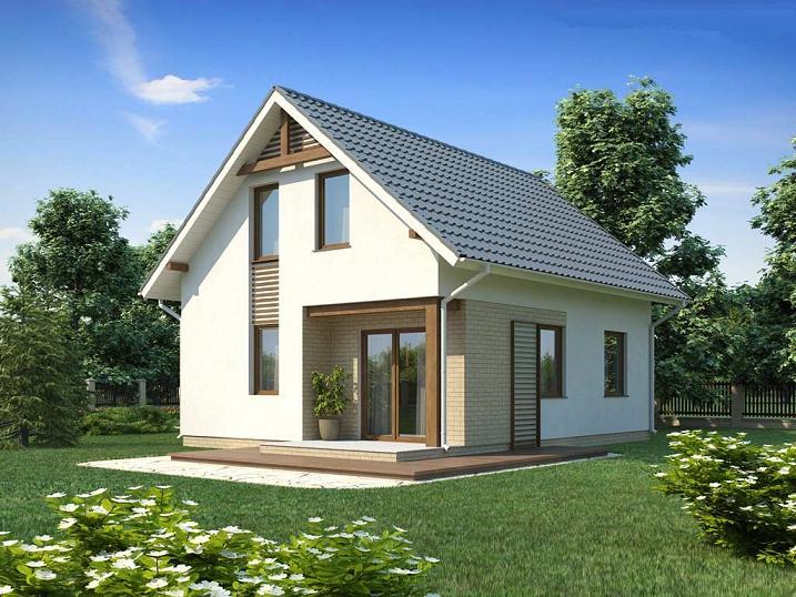 Купить готовый каркасный дом под ключ недорого