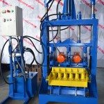 Гидравлический вибропресс для производства шлакоблока