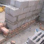 Кладка пеноблоков при строительстве бани