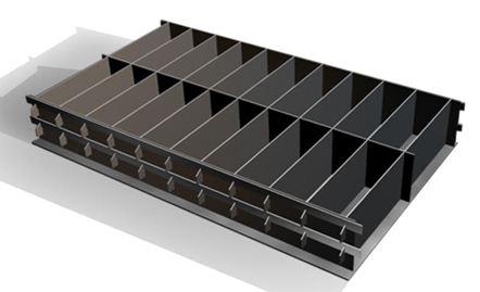 Комплект формооснастки гарантирует герметичность и точность размеров пеноблоков.
