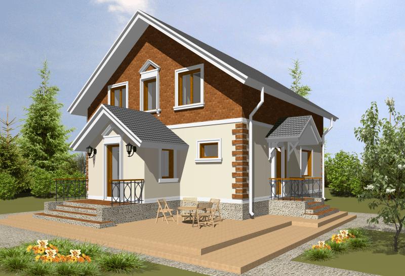 Как построить экономный дом своими руками