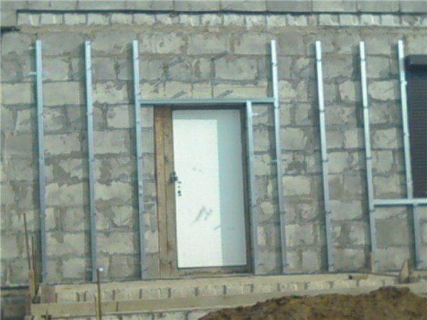 Обрешетка для фасада
