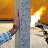 Огнестойкость материала просто поражает