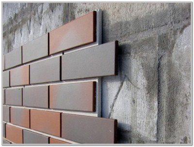 Отделка стен из пеноблоков фасадными панелями