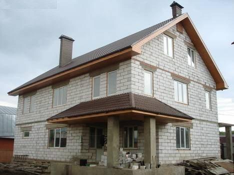 Пеноблочный дом