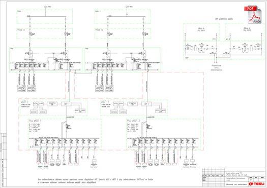 План установки электропроводки
