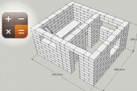 Калькулятор - пеноблоки и шлакоблоки: видео-инструкция по монтажу