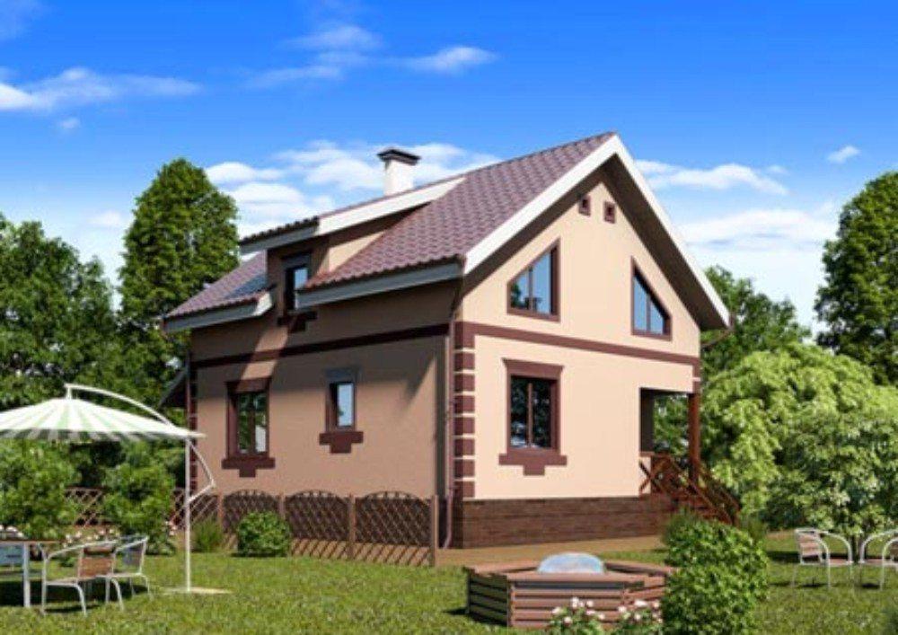 Проект Маленького Дома Из Пенобетона