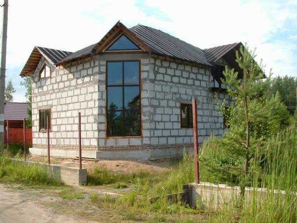 В итоге должно получиться примерно такое аккуратное строение и в кратчайшие сроки!