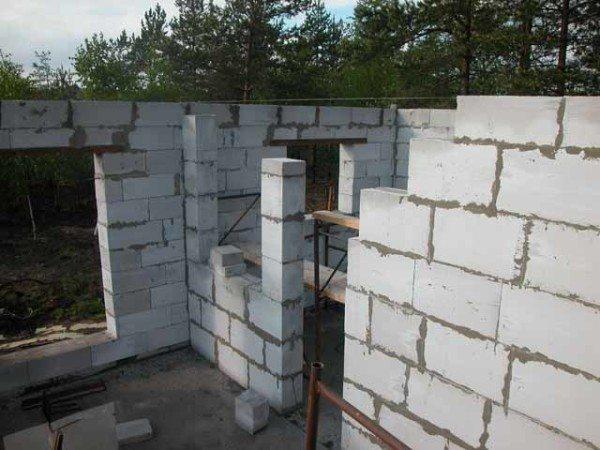 Строительство дома с пеноблока своими руками